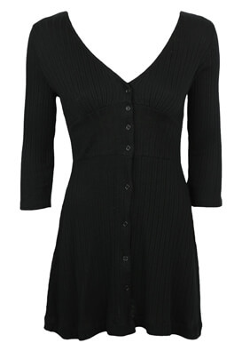 Rochie Pull and Bear Elisa Black