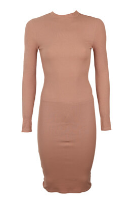 Rochie Pull and Bear Donna Light Pink