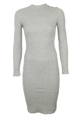 Rochie Pull and Bear Misha Light Grey
