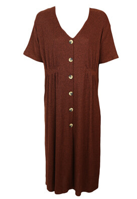 Rochie Pull and Bear Laura Brown