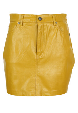 Fusta Pull and Bear Yasmin Dark Yellow