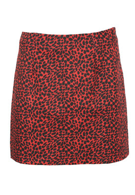 Fusta Pull and Bear Olivia Red