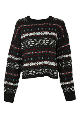 Pulover Pull and Bear Melissa Black