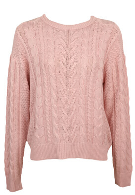 Pulover Pull and Bear Amanda Light Pink