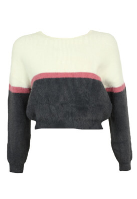 Pulover Pull and Bear Irene White