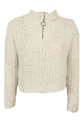 Pulover Pull and Bear Eva Light Beige