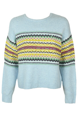 Pulover Pull and Bear Evelyn Light Blue