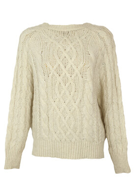 Pulover Pull and Bear Shannon Light Beige