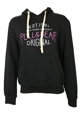 Hanorac Pull and Bear Tasha Black