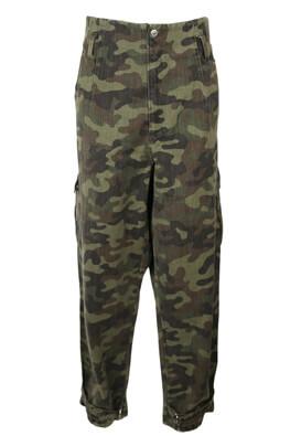 Pantaloni ZARA Berta Dark Green