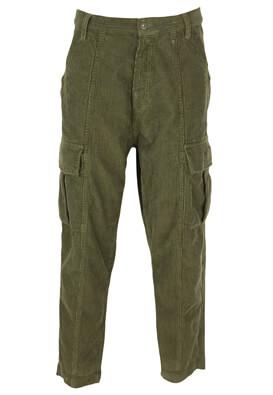 Pantaloni ZRA Helen Dark Green