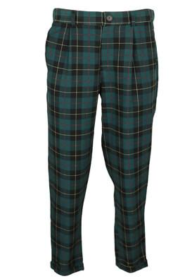 Pantaloni Pull and Bear Elle Dark Green