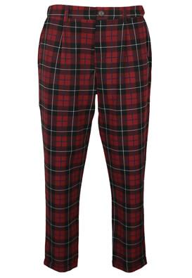 Pantaloni Pull and Bear Dina Dark Red