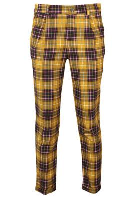 Pantaloni Pull and Bear Roxanne Dark Yellow