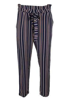 Pantaloni Pull and Bear Francesca Dark Blue