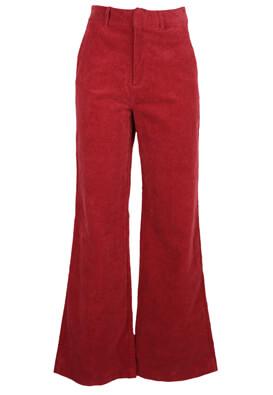 Pantaloni Pull and Bear Alma Dark Pink