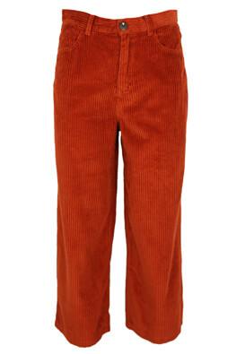 Pantaloni Pull and Bear Donna Dark Red
