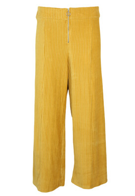 Pantaloni Pull and Bear Wendy Yellow
