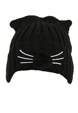 Caciula Pull and Bear Kitty Black