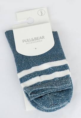 Sosete Pull and Bear Irene Blue