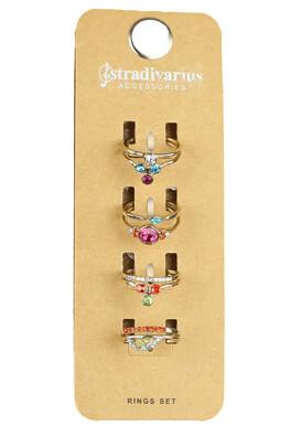Set inele Stradivarius Vanessa Colors