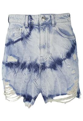 Pantaloni scurti Bershka Francesca Light Blue