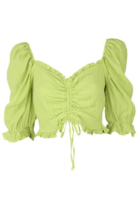 Bluza Bershka Erika Light Green
