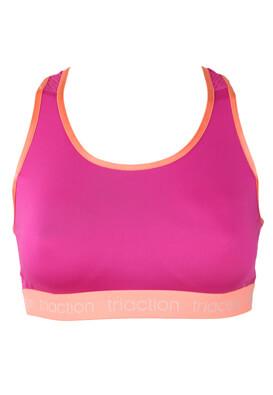 Bustiera sport Triaction Mary Dark Pink