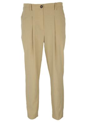 Pantaloni Vero Moda Caroline Light Beige