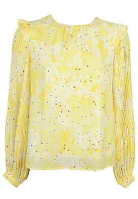 Bluza Vero Moda Christine Yellow