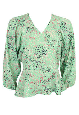 Bluza Vero Moda Caroline Light Green