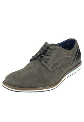 Pantofi Pier One Pablo Dark Grey