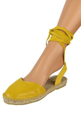 Espadrile Kiomi Kaia Yellow