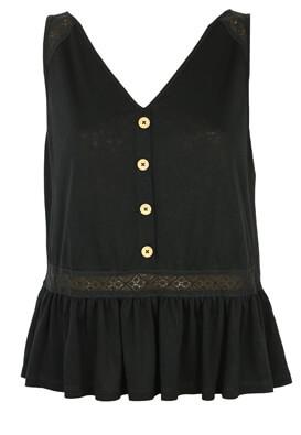 Tricou Only Luna Black