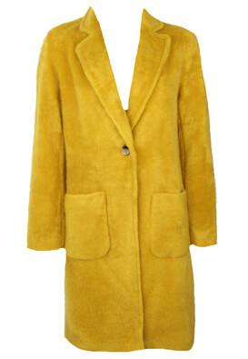 Palton Only Irene Dark Yellow