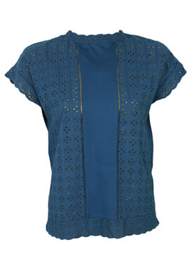 Tricou Orsay Stephany Turquoise