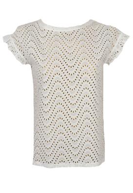 Tricou Orsay Nella White