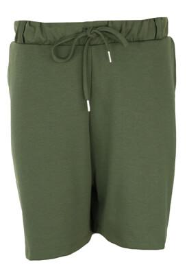 Pantaloni scurti Only Delia Dark Green