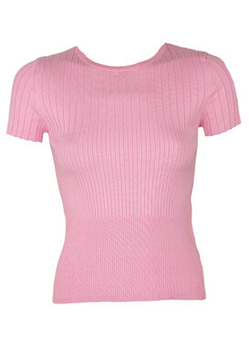 Tricou Bershka Hailey Light Pink
