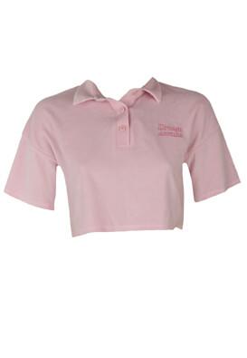 Tricou Bershka Julia Light Pink