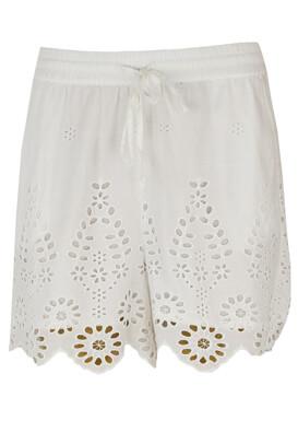 Pantaloni scurti Object Lilly White