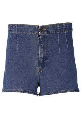 Pantaloni scurti Bershka Francine Dark Blue