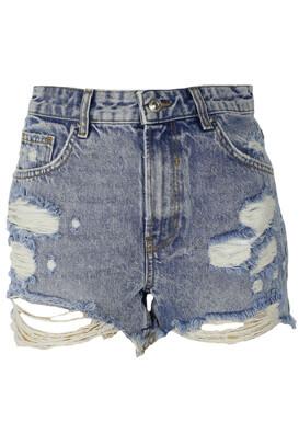 Pantaloni scurti Bershka Lisa Light Blue