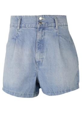 Pantaloni scurti Bershka Mary Light Blue