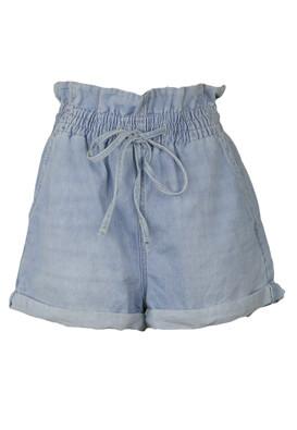 Pantaloni scurti Bershka Jill Light Blue