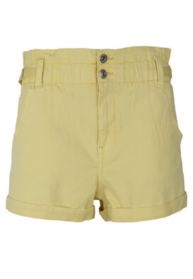 Pantaloni scurti Bershka Chloe Yellow