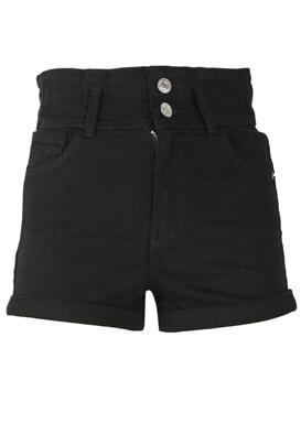 Pantaloni scurti Bershka Elisa Black
