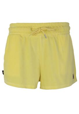 Pantaloni scurti Bershka Fay Yellow