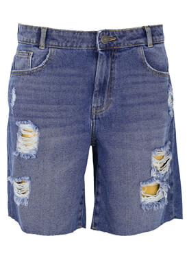 Pantaloni scurti Noisy May Madelaine Blue