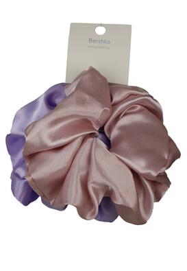 Set elastice Bershka Vanessa Light Purple